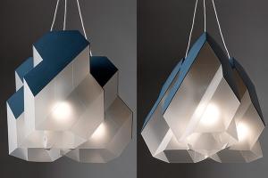 Modularni luster sa dva različita oblika, Polygon-9