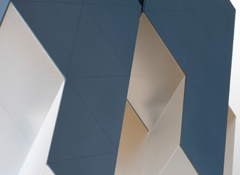 Modularni luster, polygon oblik detalji
