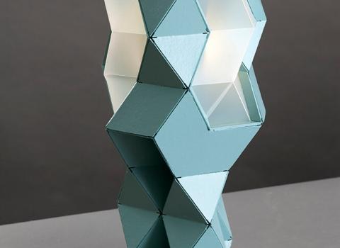 Tetra-E stolna lampa zelena boja