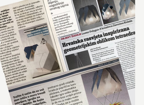 Kolaž novninskih članaka, Polygon-9